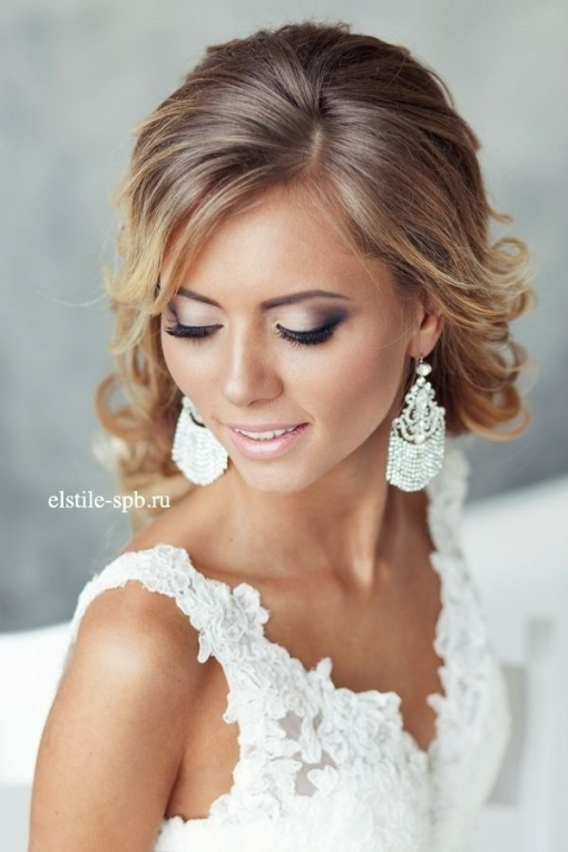 Lovely Wedding Makeup And Hair kls7