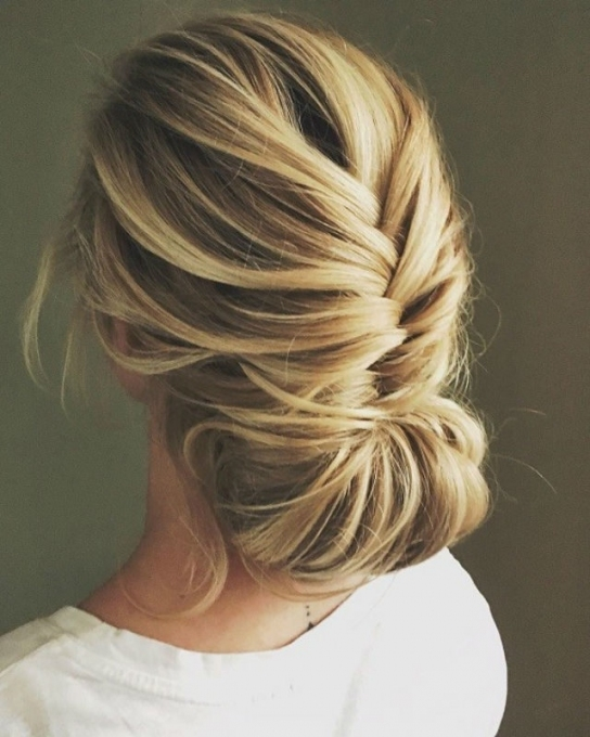 2018 Wedding Hair Trends | The Ultimate Wedding Hair Styles Of 2018 Intended For Updo Wedding Hair