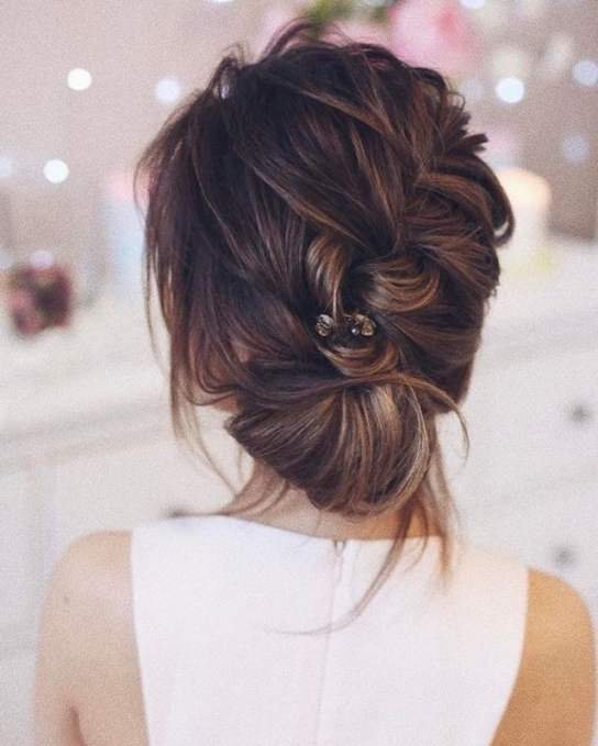 2018 Wedding Hair Trends | The Ultimate Wedding Hair Styles Of 2018 Throughout Wedding Hair Up Do