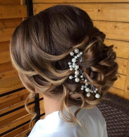 21 Glamorous Wedding Updos For 2019   Pretty Designs With Inspirational Wedding Hair Up Do Sf8