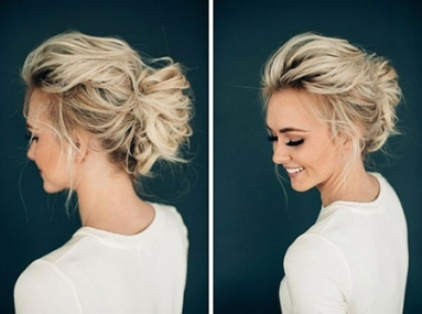 23 Popular Short Wedding Hair | Short Hairstyles & Haircuts 2018 Pertaining To Wedding Updo For Short Hair