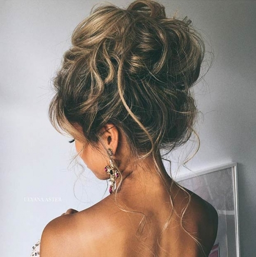 23 Romantic Wedding Hairstyles For Long Hair | Stayglam Within Long Hair Styles For Weddings