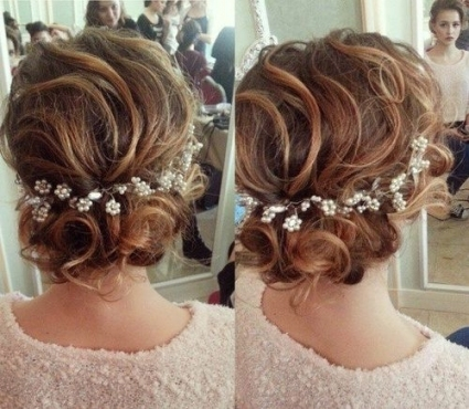 25 Cute Easy Updos For Short Hair 2018 – 2019 | On Haircuts Within Wedding Updo For Short Hair