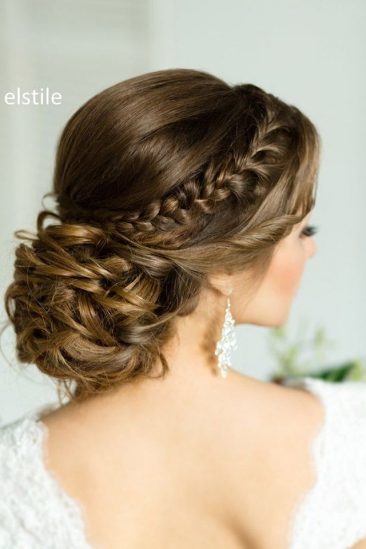 25 Drop-Dead Bridal Updo Hairstyles Ideas For Any Wedding Venues intended for Updo Wedding Hair