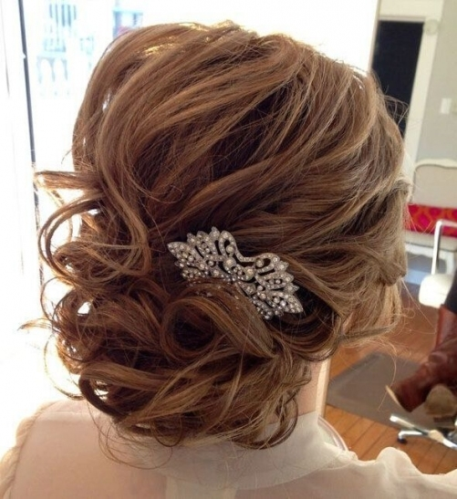 25 Glorious Wedding Hairstyles For Medium Hair 2017 - Pretty Designs for Best of Wedding Updos For Shoulder Length Hair sf8