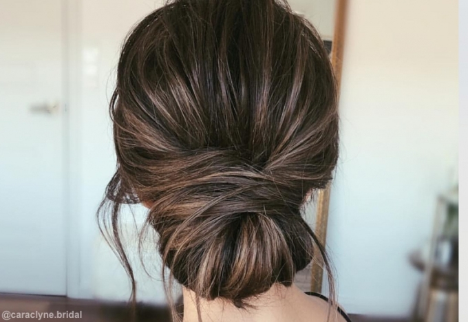 Lovely Wedding Hairstyles For Shoulder Length Hair kc3