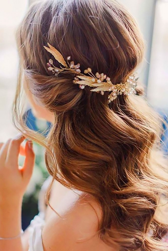 30 Captivating Wedding Hairstyles For Medium Length Hair | Wedding For Best Of Wedding Updos For Shoulder Length Hair Sf8