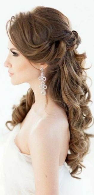 30 New Wedding Hairstyles 2017 For Long Hair – Lucky Bella Inside Long Hair Styles For Weddings