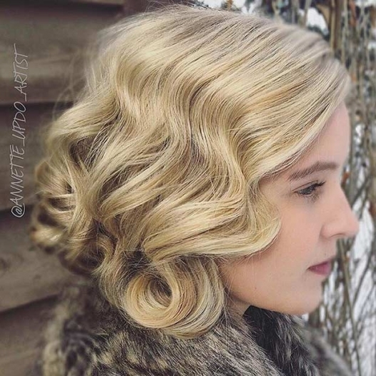 31 Wedding Hairstyles For Short To Mid Length Hair | Stayglam Intended For Wedding Updo For Short Hair