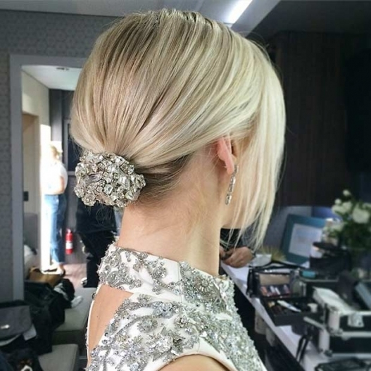 Fresh Wedding Updo For Short Hair dt3
