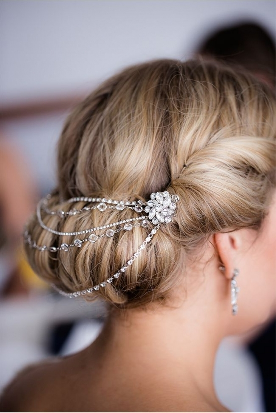 32 Magnificient Bridal Hair Pieces In 2018 | Hair | Pinterest Inside Hair Jewelry Wedding