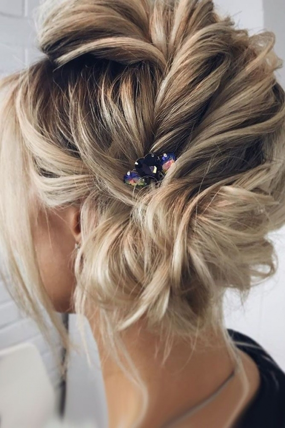 33 Wedding Updos For Short Hair | Hair | Pinterest | Wedding Throughout Wedding Updo For Short Hair