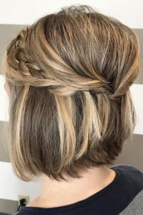 Inspirational Short Hair Updos For Wedding klp8