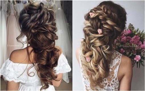 35 Wedding Updo Hairstyles For Long Hair From Ulyana Aster | Deer Inside Wedding Hair Up Do