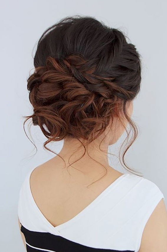 39 Wedding Updos That You Will Love | Wedding Hair Style | Pinterest for Elegant Updo Wedding Hair sf8