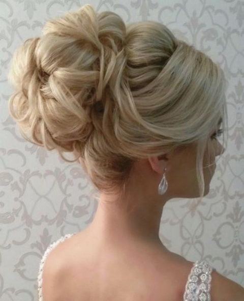 45 Most Romantic Wedding Hairstyles For Long Hair | Wedding Ideas Intended For Inspirational Wedding Hair Up Do Sf8