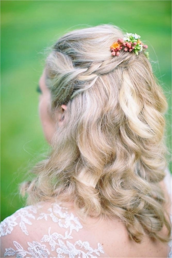 47 Simple Wedding Hairstyles That Are Easy To Master | Hitched.co.uk Intended For Unique Long Hair Styles For Weddings Kc3
