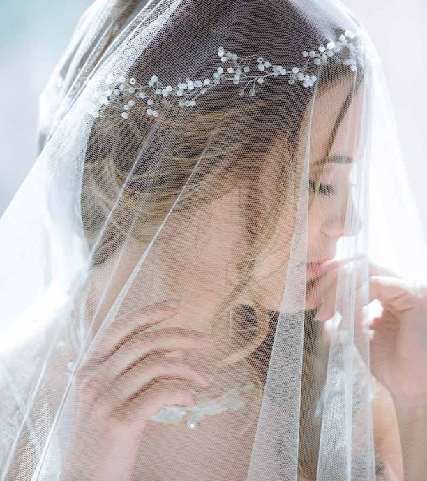 Unique Wedding Hairstyles For Long Hair With Veil klp8