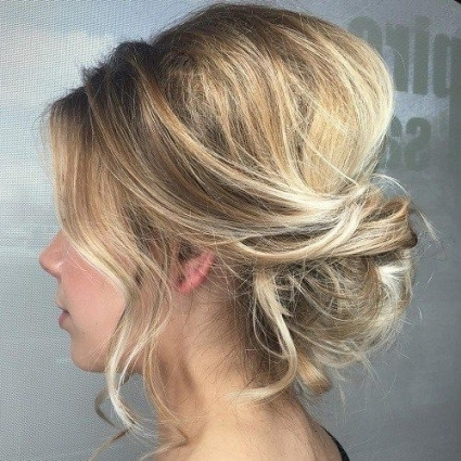 60 Trendiest Updos For Medium Length Hair In 2018 | Hair Styles pertaining to Best of Wedding Updos For Shoulder Length Hair sf8
