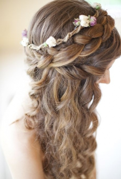 Lovely Wedding Hairstyles For Long Thick Hair dt3