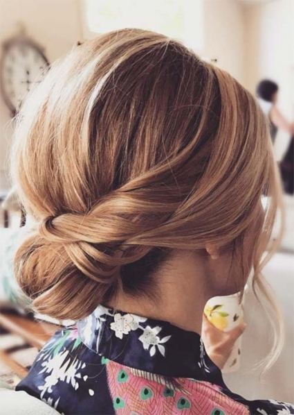 63 Creative Updos For Short Hair Perfect For Any Occasion   Glowsly Within Fresh Wedding Updo For Short Hair Dt3