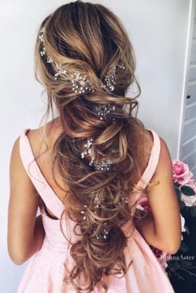 72 Best Wedding Hairstyles For Long Hair 2018 | Wedding Forward With Regard To Long Hair Styles For Weddings