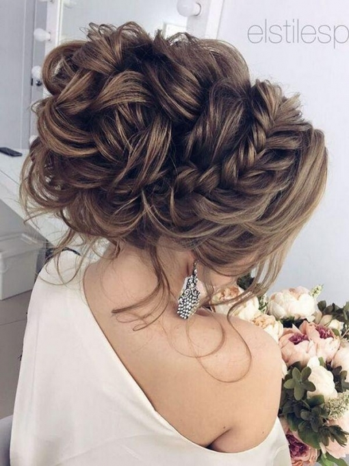 75 Chic Wedding Hair Updos For Elegant Brides #2639756   Weddbook Intended For Updo Wedding Hair