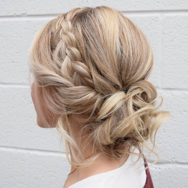 79 Beautiful Bridal Updos Wedding Hairstyles For A Romantic Bridal Within Inspirational Wedding Hair Up Do Sf8