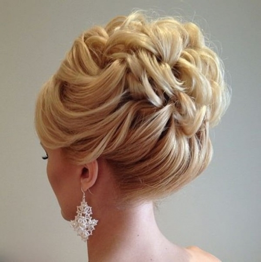99 Stunning Wedding Hairstyles That Will Make You Weep On Your Big for Inspirational Wedding Hair Up Do sf8