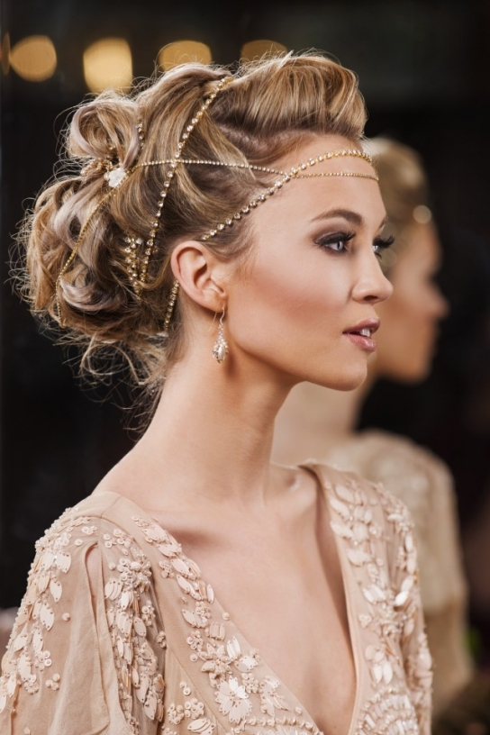 A Collection Of Modern And Marvelous Bridal Hair Accessoriesann regarding Best of Modern Wedding Hair sf8