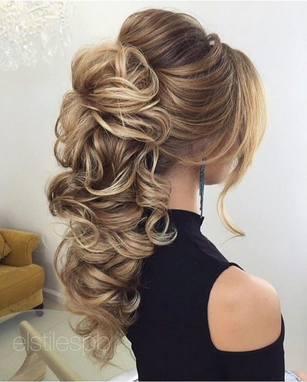 Beautiful Bridal Hairstyle For Long Hair To Inspire You | Hair In Unique Long Hair Styles For Weddings Kc3
