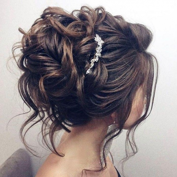 Beautiful Updo Wedding Hairstyle For Long Hair Perfect For Any Throughout Elegant Updo Wedding Hair Sf8