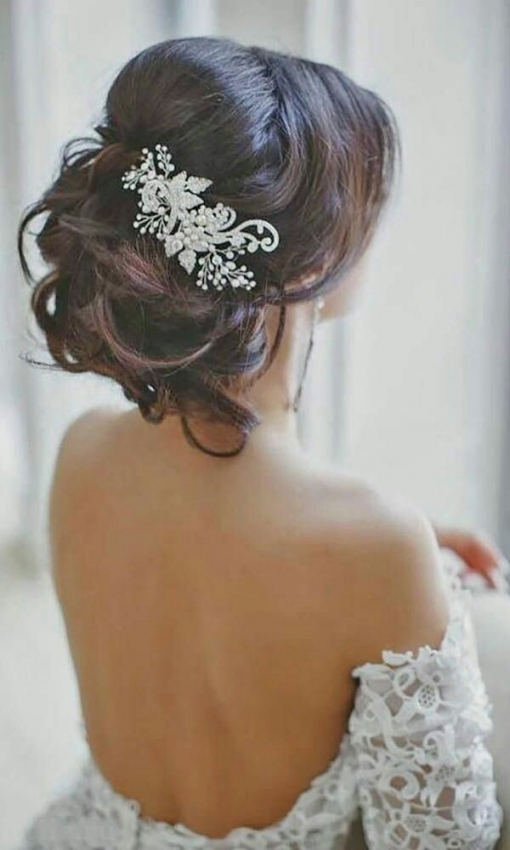 Bridal Hair Jewelry | Bridal Studio On Location With Regard To Hair Jewelry Wedding