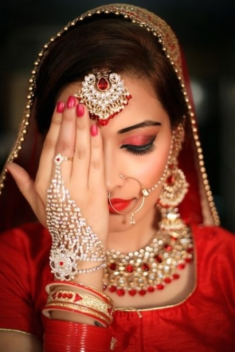 Bridal Makeup   Find Bridal Makeup Artists In India With Prices Pertaining To Beautiful Hair And Makeup For Wedding Cost Klp8