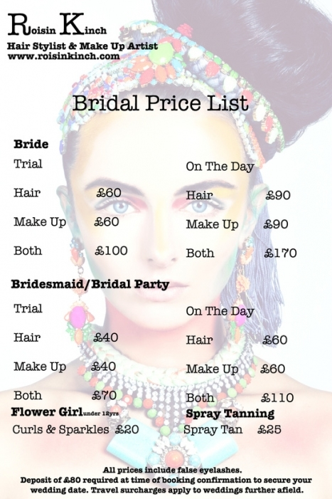 Bridal Party Hair And Makeup Cost   Makeupview.co Intended For Beautiful Hair And Makeup For Wedding Cost Klp8