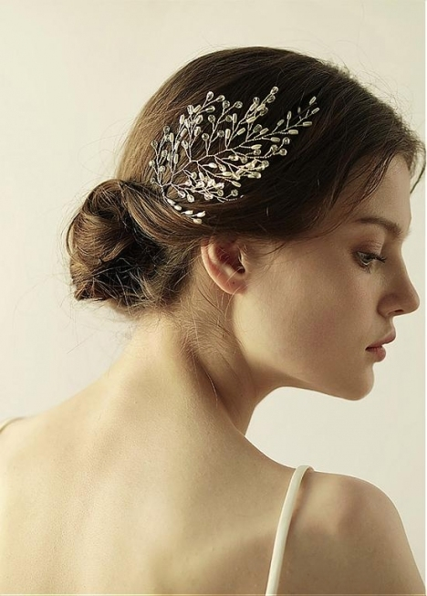 Buy Discount In Stock Modern Wedding Hair Jewelry With Rhinestones Within Modern Wedding Hair