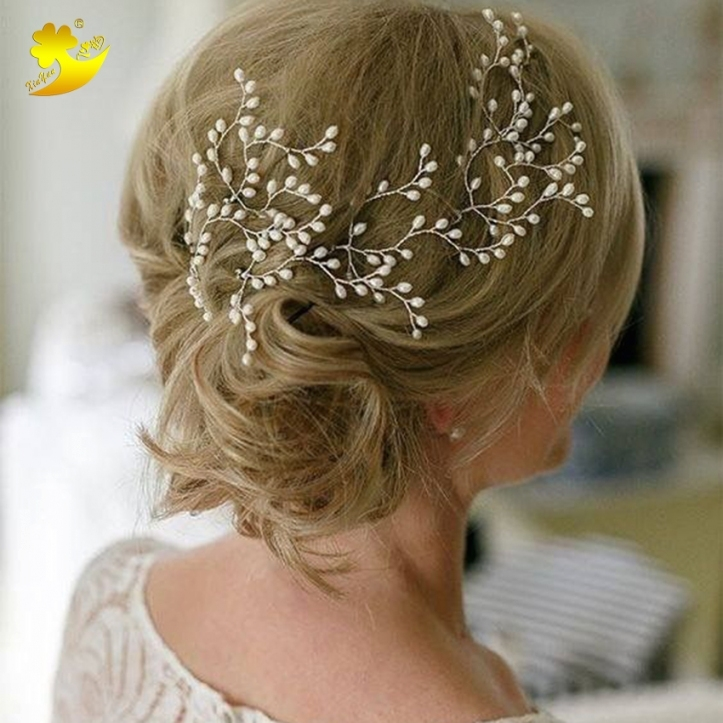 Closeout Xinyun Women Hair Pins Simple Hair Jewelry Bridal Hair With Regard To Luxury Hair Jewelry Wedding Klp8
