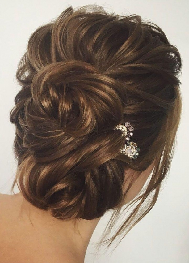 Gorgeous Wedding Hair Updo Hairstyle Idea #2824231 - Weddbook intended for Inspirational Wedding Hair Up Do sf8