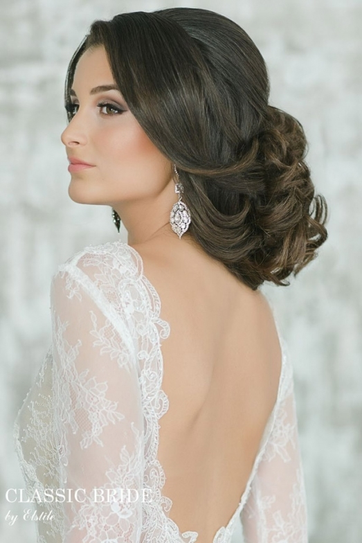 Gorgeous Wedding Hairstyles And Makeup Ideas - Belle The Magazine with Wedding Hair Makeup