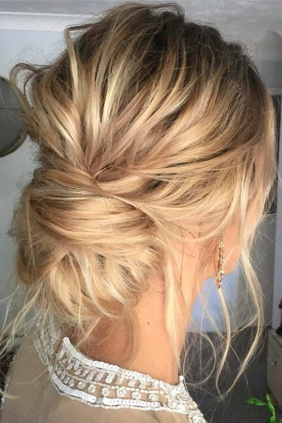 Hairdressing Tips That Can Work For Anyone! In 2018 | Hairstyles Pertaining To Best Of Wedding Updos For Shoulder Length Hair Sf8