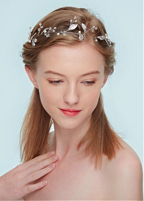 In Stock Modern Wedding Hair Ornament With Imitation Pearls Pertaining To Modern Wedding Hair