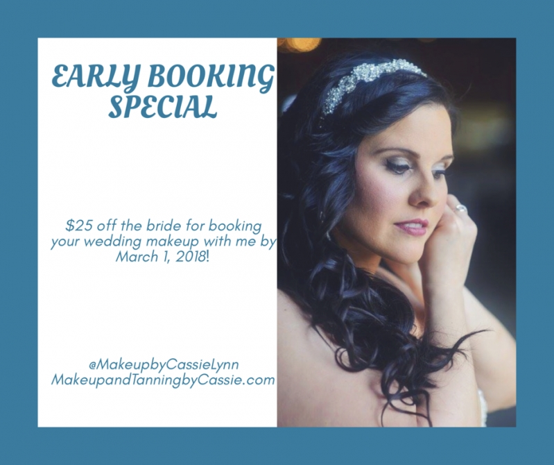 Makeup Prices And Packages   Makeup & Tanningcassie Inside Beautiful Hair And Makeup For Wedding Cost Klp8