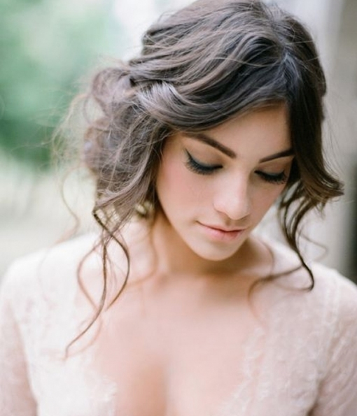 Modern Manes | Planning For Soft And Romantic Wedding Hair   Tania With Regard To Best Of Modern Wedding Hair Sf8