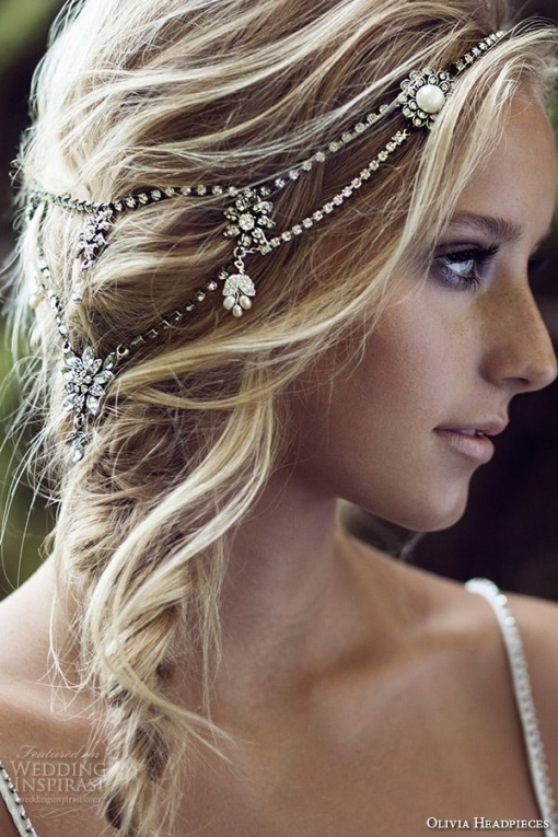 Olivia Headpieces — W Label Bridal Hair Accessories | Bohemian Hair for Hair Jewelry Wedding