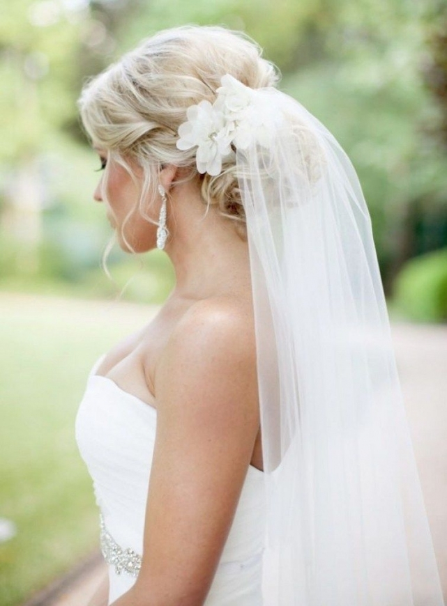 Pinrebekah Hurst🐾 On Hair Ideas!:) | Pinterest | Wedding In Beautiful Wedding Hairstyles For Short Hair With Veil Df9