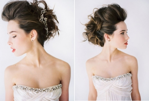 Rock N Roll Wedding Hair Updo Formal Elegant Modern Wedding Hair Diy Intended For Modern Wedding Hair