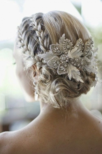 Short Hair Wedding Updos   Hairstyles Ideas Throughout Fresh Wedding Updo For Short Hair Dt3