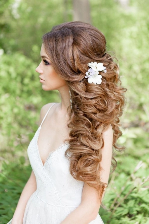 Style Ideas: 20 Modern Bridal Hairstyles For Long Hair | Bridal throughout Best of Modern Wedding Hair sf8