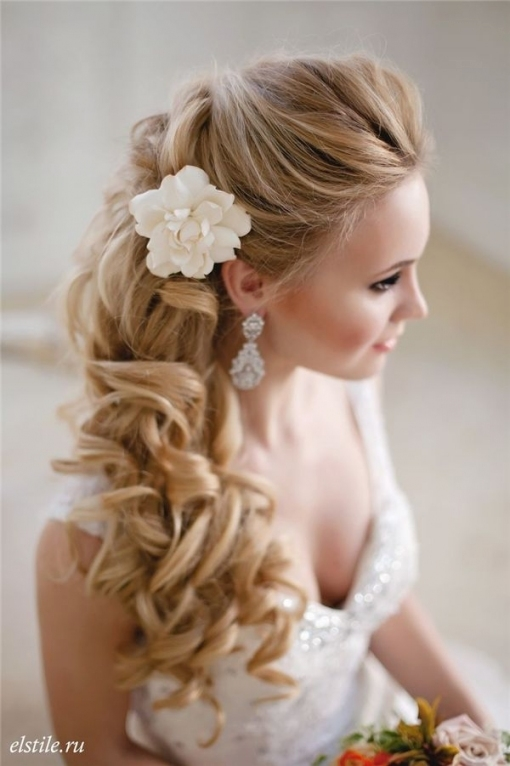 Style Ideas: 20 Modern Bridal Hairstyles For Long Hair | Wedding For Best Of Modern Wedding Hair Sf8