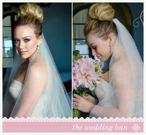 Lovely Hilary Duff Wedding Hair df9